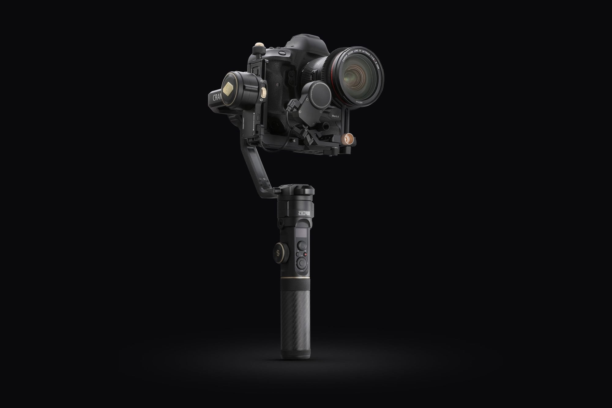 CRANE 2S Handheld Gimbal for EOS 1DX MARK II