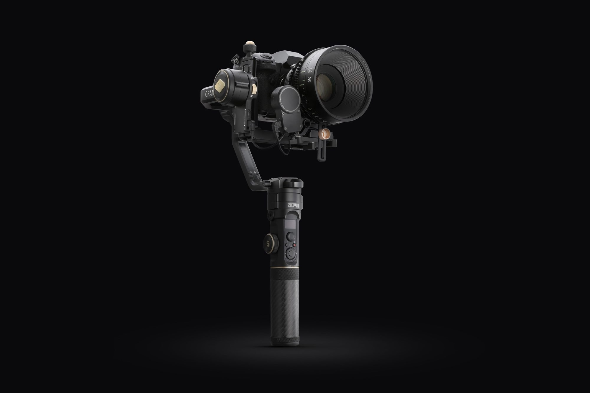 CRANE 2S Handheld Gimbal for Panasonic S1H Camera