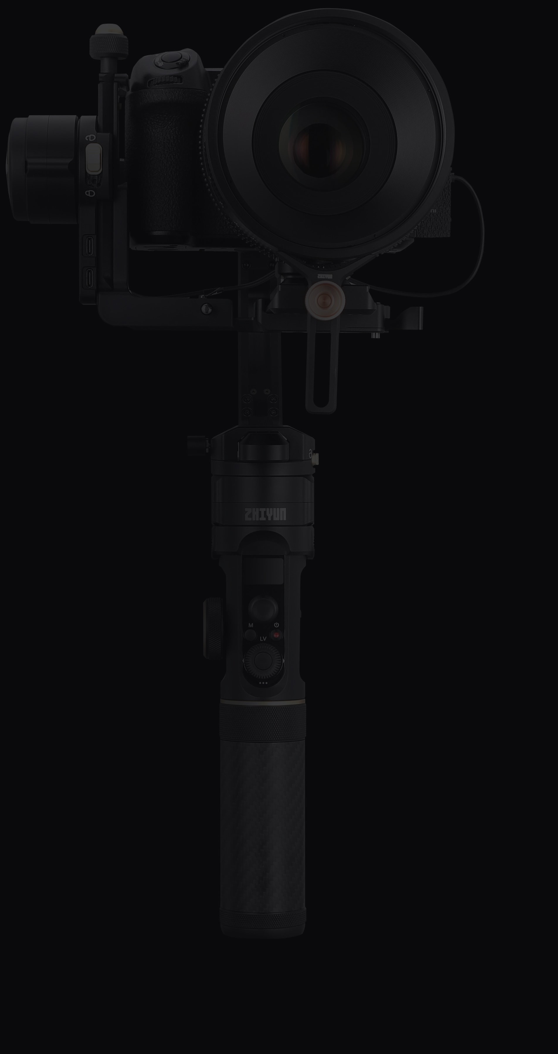 Crane 2S handheld camera stabilizer
