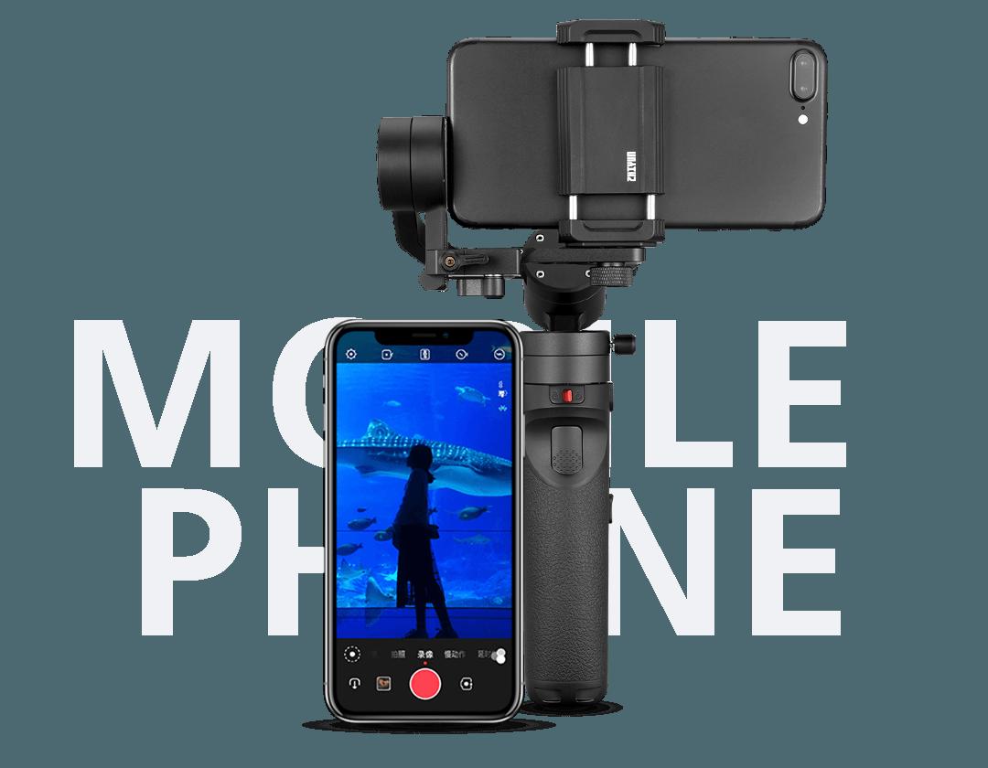 Smartphone & Camera Handheld Stabilizer Gimbal Crane M2 | ZHIYUN